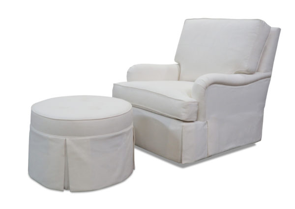 Casita Kate Chair and Nixon Ottoman